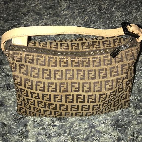 Fendi Handbags - Fendi Zucchino cosmetic case 3941c965e6f69